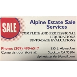 Alpine Estate Sales Logo