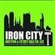Iron City Auction Company Logo