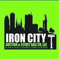 Iron City Auction Company Logo
