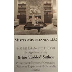 Mister Miscellanea LLC Logo