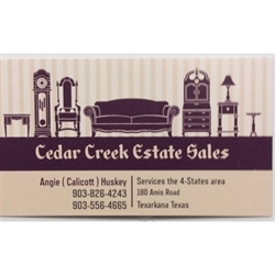 Cedar Creek Estate Sales Logo