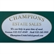 Champions Estate Sales Logo