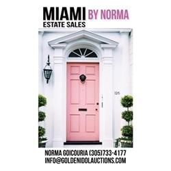Miami Estate Sales By Norma Logo