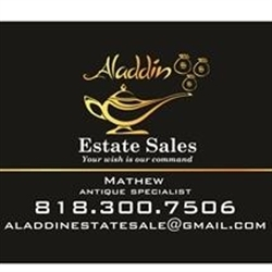 Alladin Estate Sale Logo