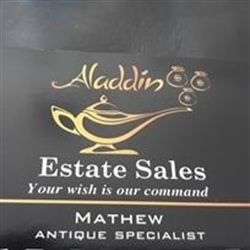 Aladdin Estate Sales Logo