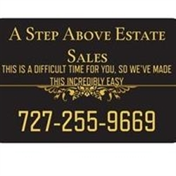 Step Above Estate Sales Logo
