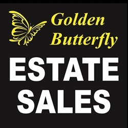 Golden Butterfly Estate Sales Logo