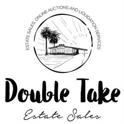 Double Take Estate Sales Logo