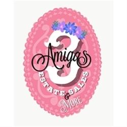 3 Amigas Estate Sale Logo