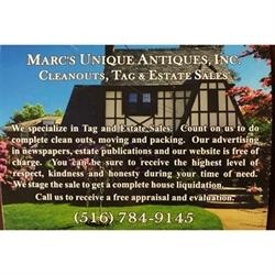 Marc's Unique Antiques, Inc. Logo