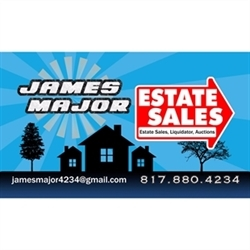 James Major Estate Sales Logo