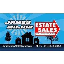 James Major Estate Sales Logo