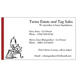 Twins Estate And Tag Sales Logo