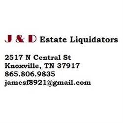 J & D Estate Liquidators Logo