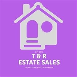 T&r Estate Sales Logo