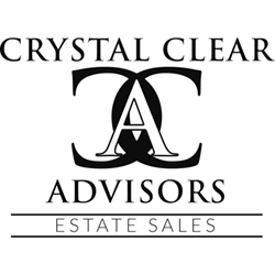 Crystal Clear Advisors Llc, Estate Sales, Liquidations, Events And Consulting Logo