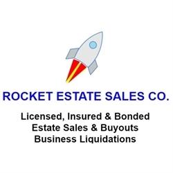 Rocket Estate Sales Logo