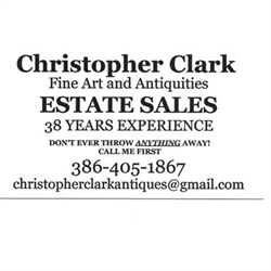 Christopher Clark Fine Art & Antiquities Logo