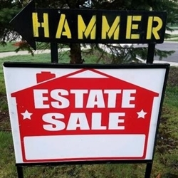 Hammer Estate Sales & Auctions Logo