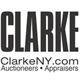 Clarke Auction Gallery Logo