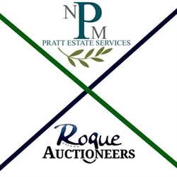Pratt Estate Services & Rogue Oregon Auctioneers Logo