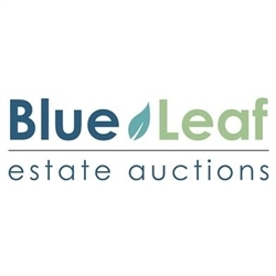 Blue Leaf Estate Auctions Logo