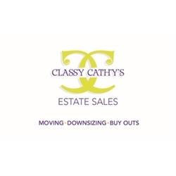 Classy Cathy's Estate Sales Logo