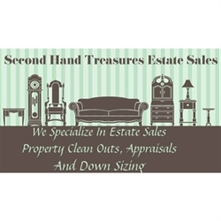 Second Hand Treasures Estate Sale Services Logo