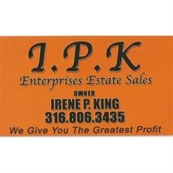 IPK Enterprises Estate Sales Logo