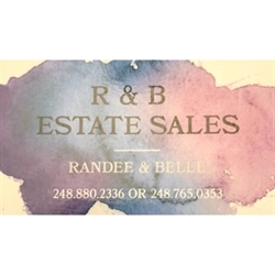 R And B Estate Sales Logo