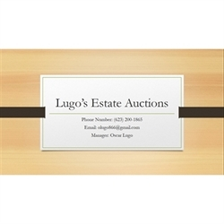 Lugo's Estate Auction's Logo