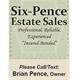 Six Pence Estate Sales Logo