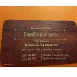Sayville Antiques Logo