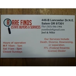 Rare Finds Estate Buyers And Services LLC