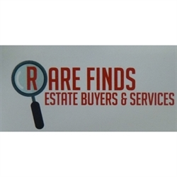Rare Finds Estate Buyers And Services LLC Logo