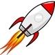 Rocket Estate Sales STL Logo