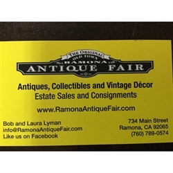 Estate Sales By Ramona Antique Fair