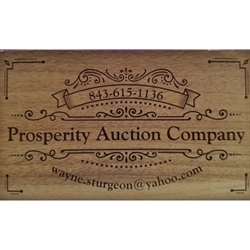 Prosperity Auction Company, LLC Logo