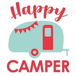 Happy Camper Estate Sales & More Logo