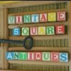 Vintage Square Antiques & Gift Shop Logo