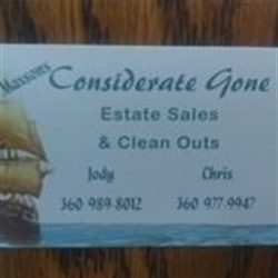 Considerate Gone Estate Sales Logo