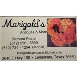 Marigolds Antiques & More Logo