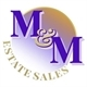 M&m Estate Sale Logo