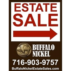 Buffalo Nickel Estate Sales Logo