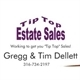 Tip Top Estate Sales Logo