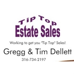 Tip Top Estate Sales Logo