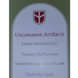 Uncommon Artifacts Estate Services LLC Logo