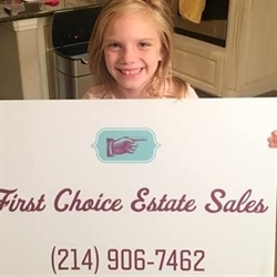 First Choice Estate Sales - DFW Logo