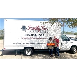 Family Ties Estate Sales Logo