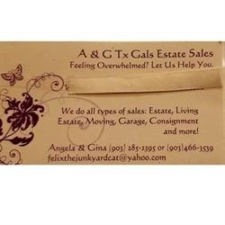 A & G Estate Sales Logo